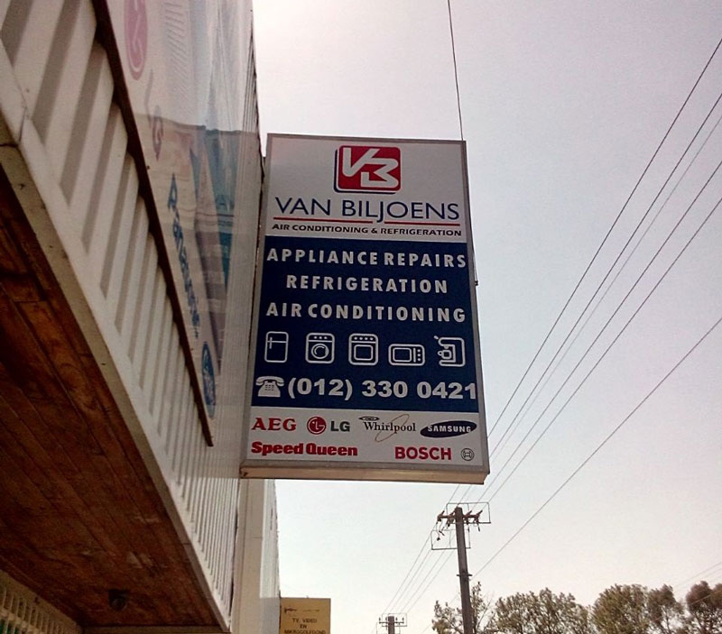 Van Biljoens' new Sign