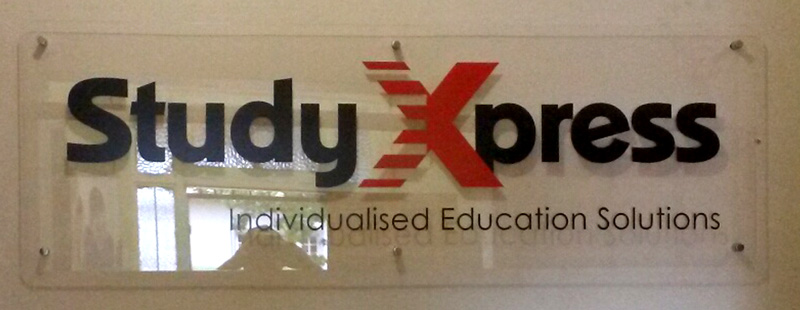 Study Xpress situated in Potchefstroom wanted to up their visual impact and decided to add some eye catching branding to their location.