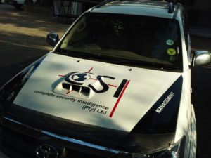Fortuner bonnet branded
