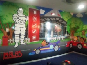Wall Vinyl with lamination at Malas Pretoria